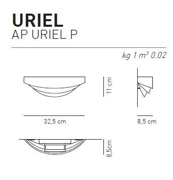 AXO Light Kinkiet Uriel AP P brąz