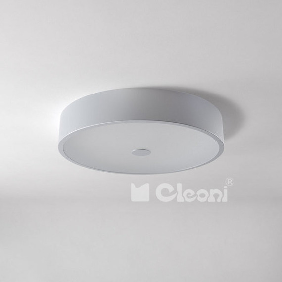 Alan 50 Plafon Cleoni Czarny Mat