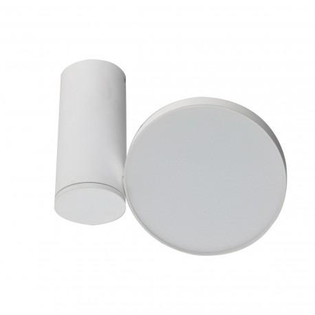 Azzardo Galena LC1486-12W-WH Plafon  biały