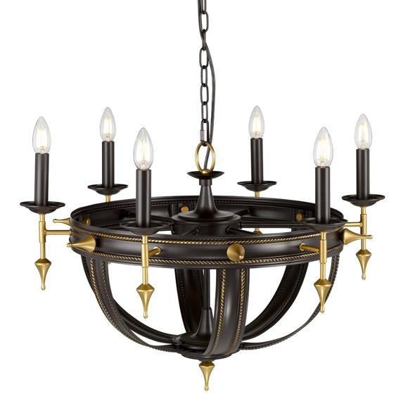 Elstead Lighting Regal REGAL6 Lampa wisząca