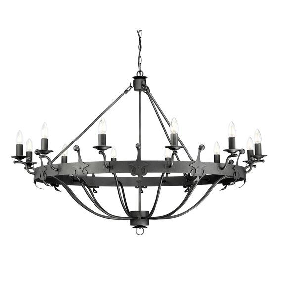 Elstead Lighting Windsor WINDSOR12-GR Lampa wisząca