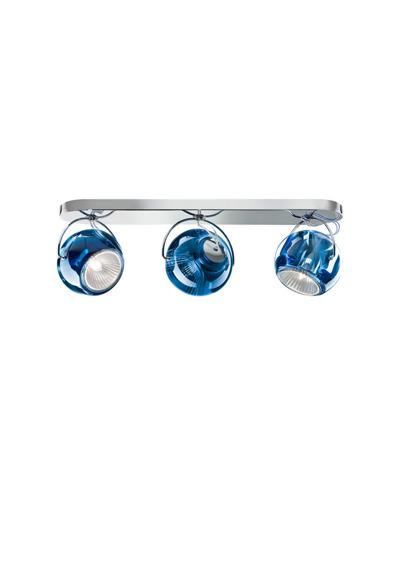 Fabbian BELUGA COLOUR D57 G25 31 blue Plafon