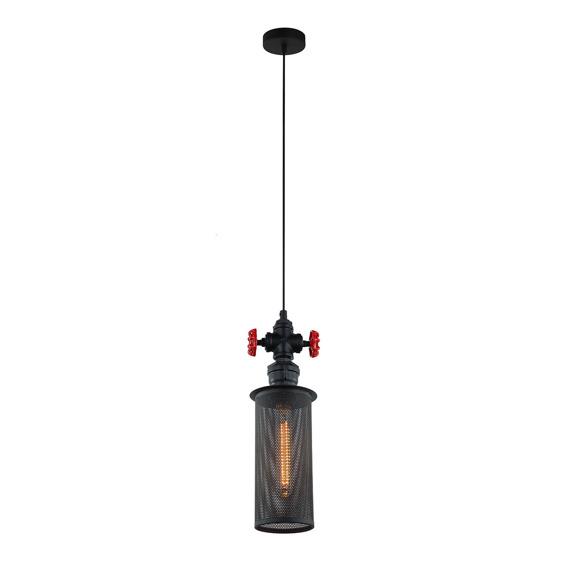 Italux  Clubbo MDM2848/1BK  Lampa Wisząca