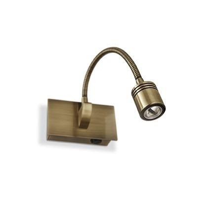 Kinkiet DYNAMO AP1 121352 antyczny brąz Ideal Lux