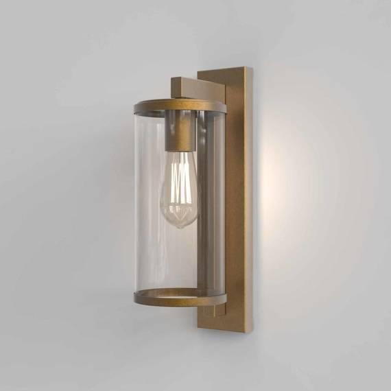 Lampa Ścienna Astro Pimlico 1413003 Mosiądz