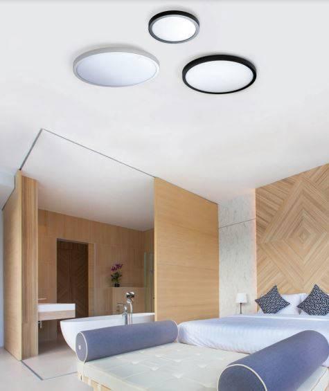 Lampa Sufitowa Biała Azzardo Malta R 40 AZ4245