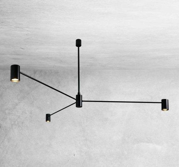 Lampa Zwieszana Shilo Dakata 5648 Czarna