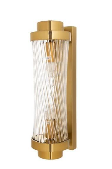Lampa ścienna Berella Light Kona Wall 40 Gold BL5417