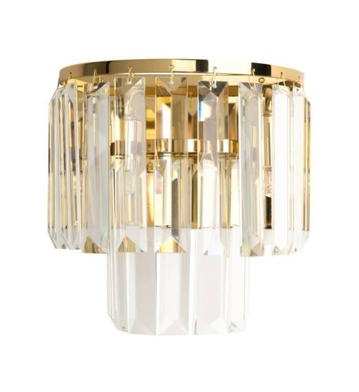 Lampa ścienna Złota Maxlight Monaco W0288