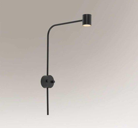 Lampa ścienna długa Shilo Sakata 7822 Czarny