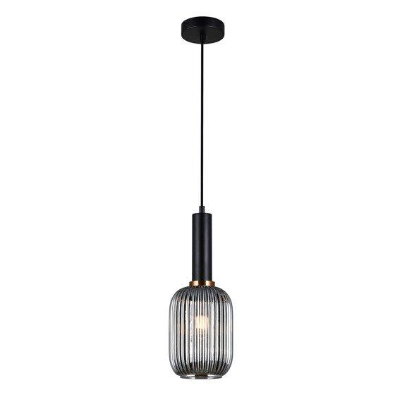 Lampa wisząca Italux Antiola czarna