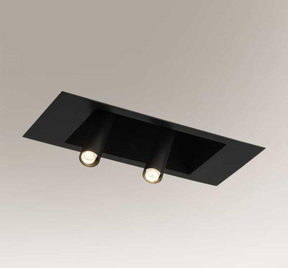 Lampa wpuszczana regulowana Shilo Yamaga 7800 Czarna