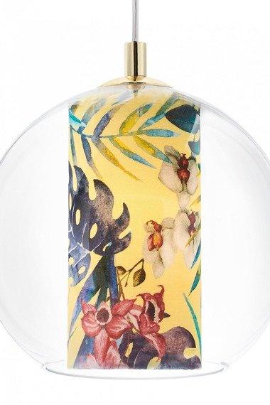 Lampa z motywem egzotycznym Kaspa Feria S