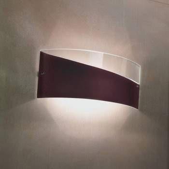 Lampade Italiane CAPOCABANA lewy brąz Lampa Ścienna