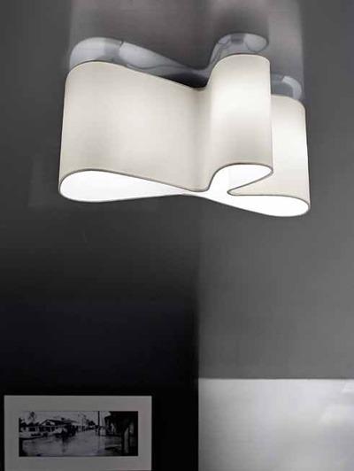 Lampade Italiane MUGELLO LS 1051/60P białą Lampa Sufitowa