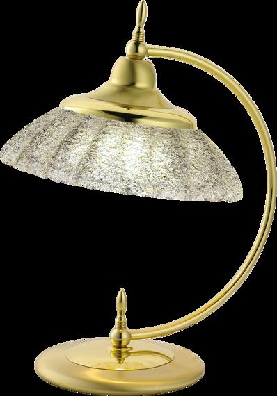 Lampka biurkowa Amplex Onyx 325 złoty