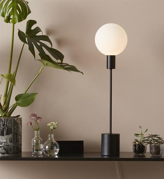 Lampka nocna w kolorze czarnym Markslojd Uno 107766