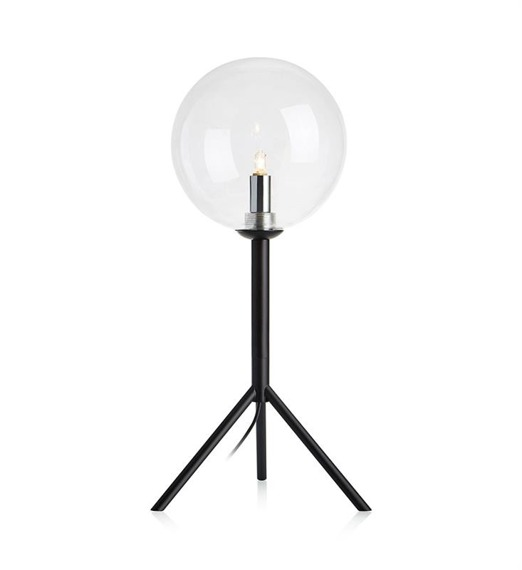 Lampka stołowa ze szklanym kloszem Andrew 107749 Markslojd