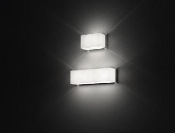 Leucos BLOCK P29 Lampa Ścienna biały