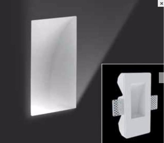 Leucos SD 084 N Oprawa Schodowa biały 17 x 8,5 cm LED