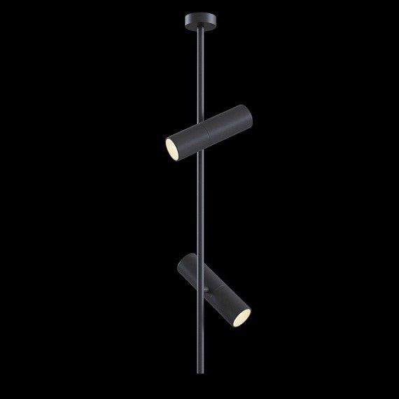 Maytoni Elti C021CL-02B Plafon czarny 2x50W GU10