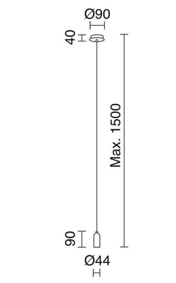 "Novolux Exo Lampa wisząca ""A Tu Estilo"" 717D-G05X1A-32"