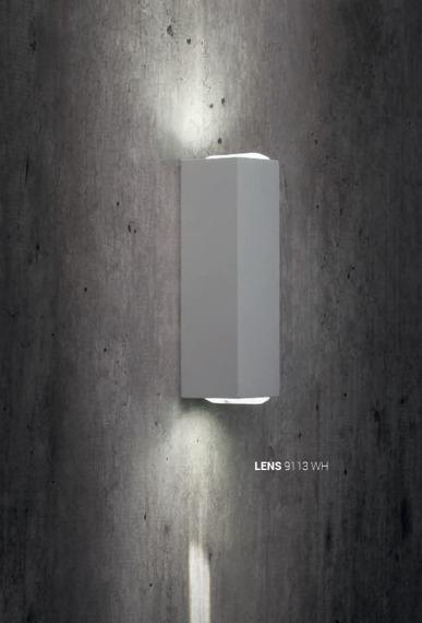Nowodvorski Lens 9113 Kinkiet zewnętrzny