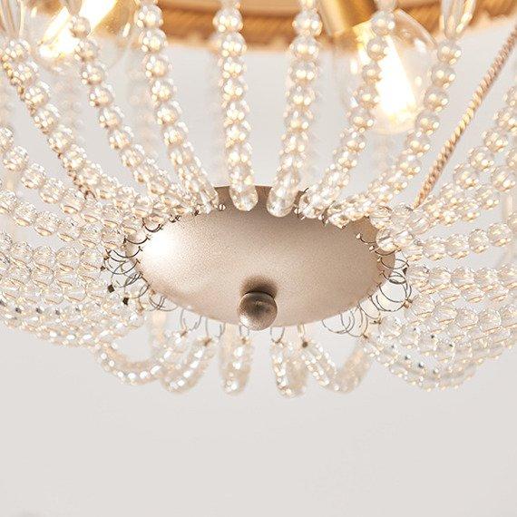 Plfoniera Endon Celine 3 90123 Różowe złoto/Transparentny