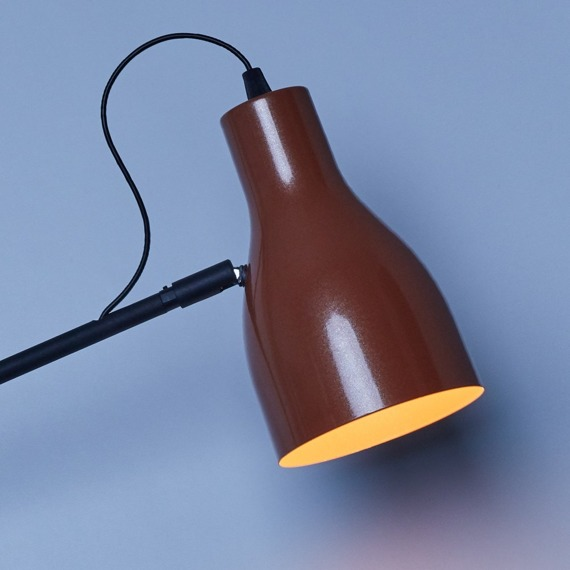 Ramko Lotta 66147 miedziana Lampa ścienna
