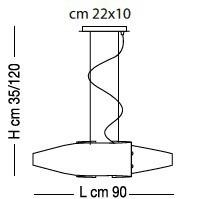 Sillux DETROIT SP 8/218wis 90 cm