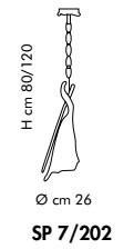 Sillux KINGSTON SP 7/202 02/22 Zwis miedziany