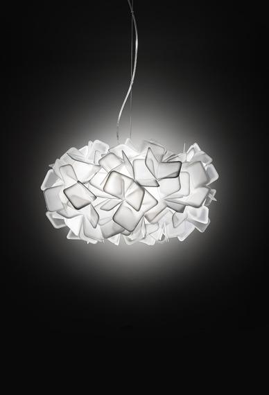 Slamp Clizia biała Lampa wisząca