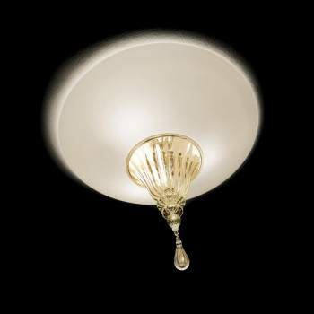 Vintage POISON 45 Lampa Sufitowa bianco/oro