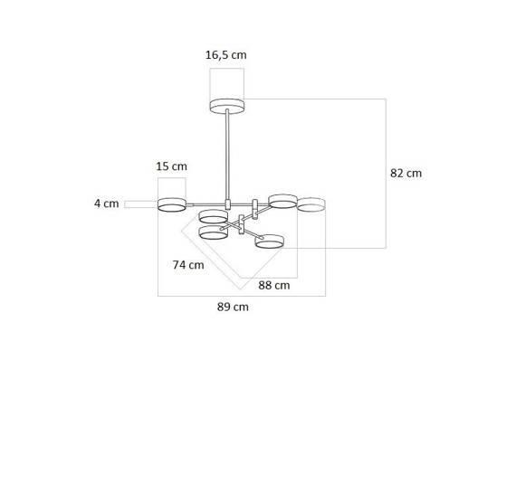Zwis Ledowy Regulowany Berella Light Tuma BL0130