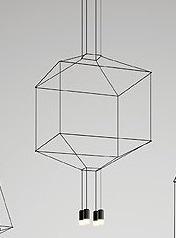 Zwis Wireflow 0311-04 Vibia czarna 64 cm
