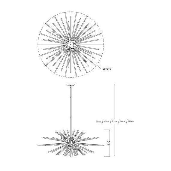Zwis Zuma Line Urchin P0491-09E-F7DY