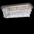Plafon kryształowy Ideal lux Martinez PL8 Złoty