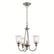 Zwis Elstead Lighting Waverly KL-WAVERLY3-CLP Nikiel